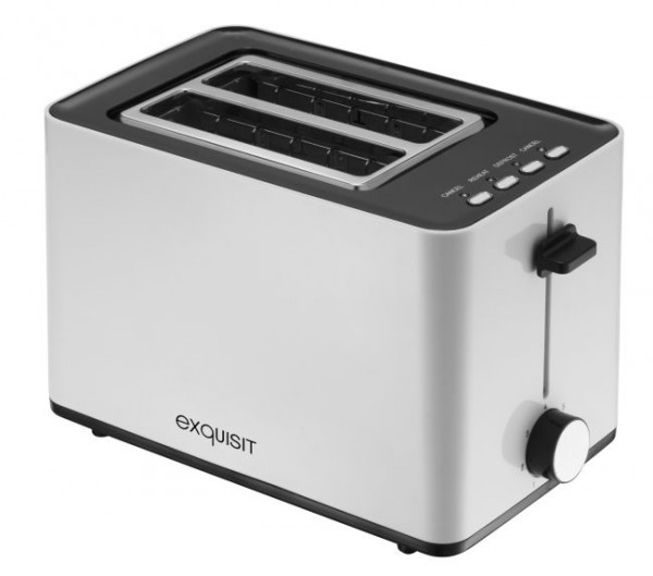 exquisit 2-Scheiben-Toaster TA 6102 we