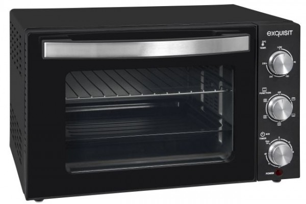 exquisit Mini-Backofen MO 3301 sw